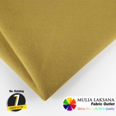 BAMBOO COTTON MUSTARD 36""
