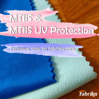 KAIN M-TIIS DENGAN ANTI UV PROTECTION