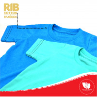 RIB COTTON COMBED 24S HITAM COT 32