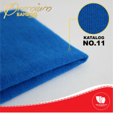 BAMBOO COTTON 30S BIRU TURKIS 36