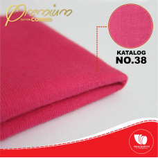 COTTON COMBED 30S PINK MAGENTA 42